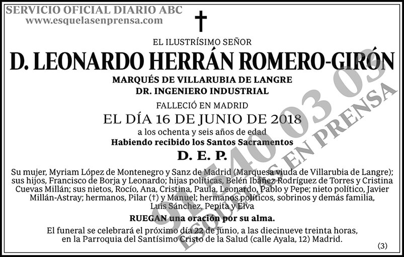 Leonardo Herrán Romero-Girón